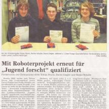 100306_Tagblatt_Jugend forscht